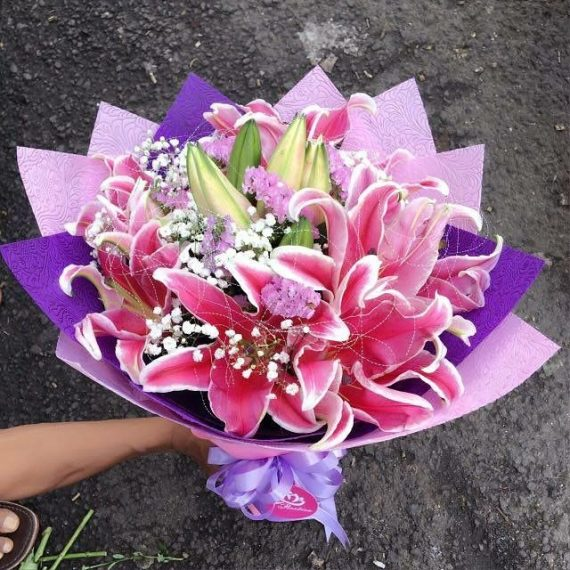 Hand Bouquet Pengantin 081298727281